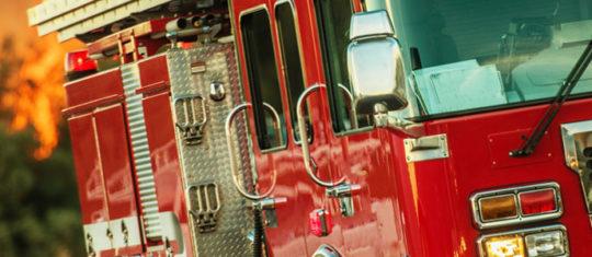 Réservoirs d'eau de pluie pour incendie réservés aux pompiers