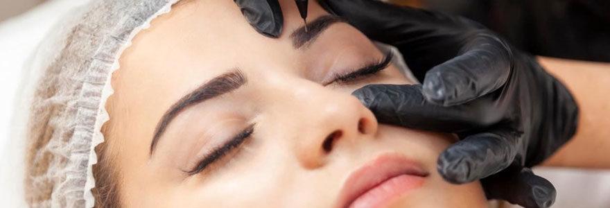 Produits de maquillage permanent des sourcils en ligne