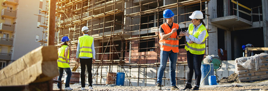 Services offerts par une société de construction à Brabant wallon