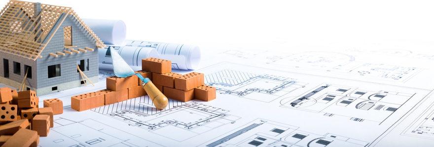 plan de maison moderne