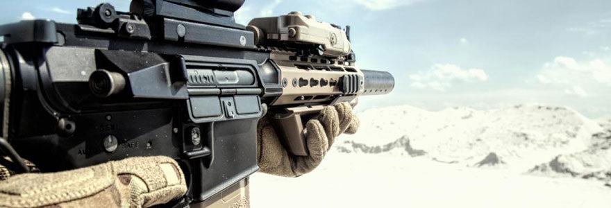Répliques de fusils d'assaut