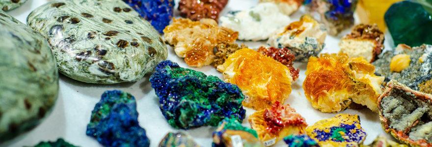 minéraux naturels