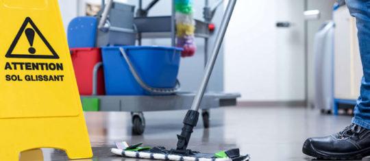 Balayage et nettoyage industriel